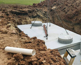 Concrete Septic Tank for System Maintenance in ​Bakersfield, CA​